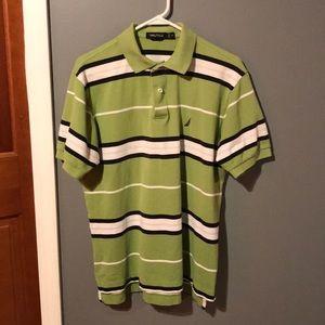 Nautica Stripped Polo Shirt